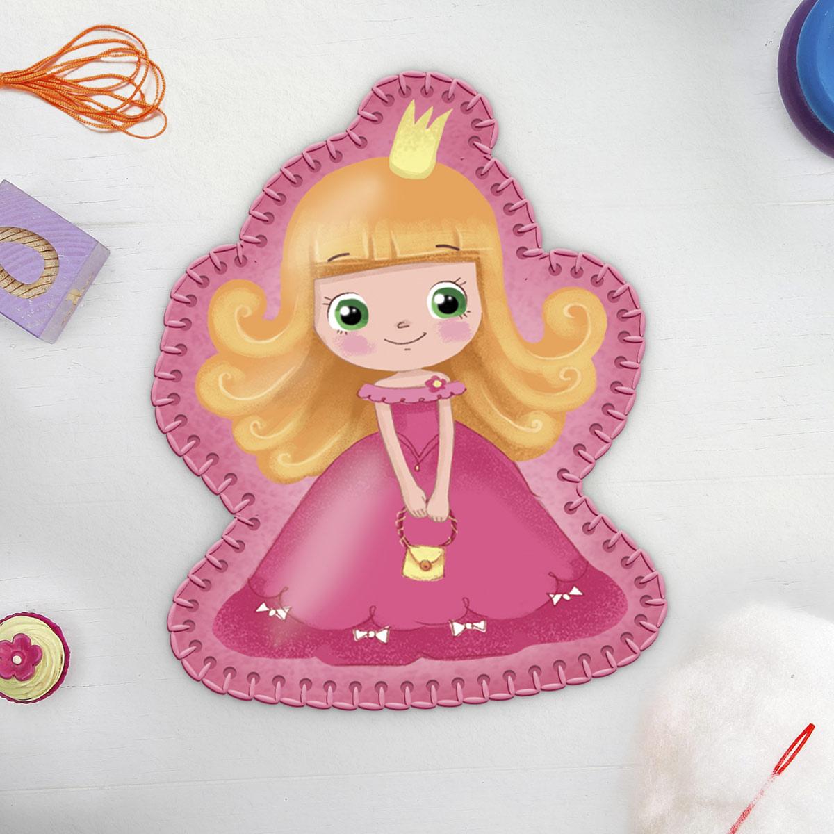 4324396 Набор для творчества 'Игрушка из фетра'. Маленькая принцесса