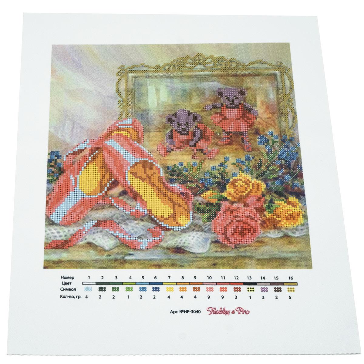 """Схема для вышивания бисером НР-3040 """"В зазеркалье"""", 25х28 см, Hobby&Pro"""