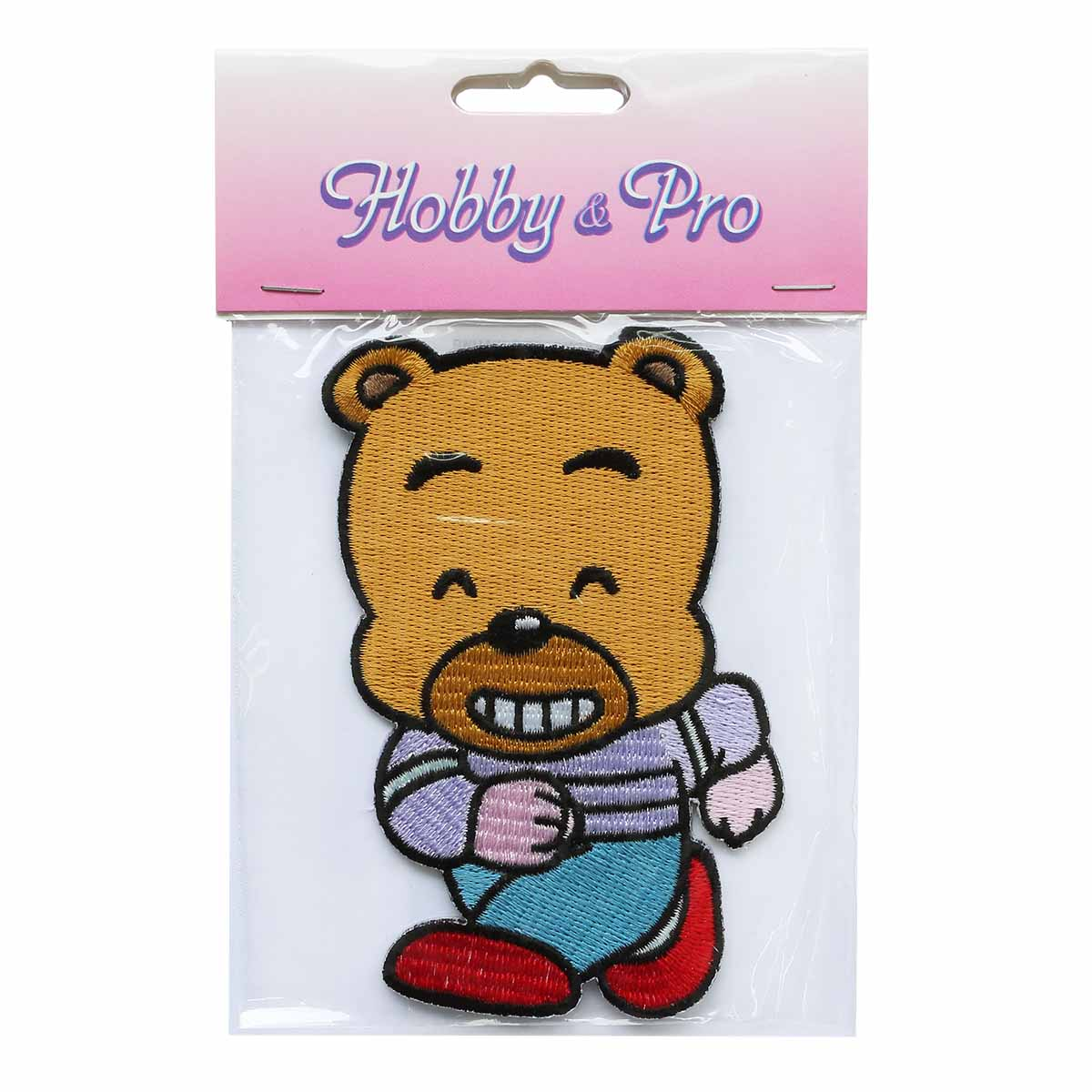 Термоаппликация AD1003 Злой медвежонок, Hobby&Pro