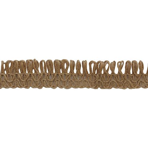 12 Тесьма отделочная 5м, цв. натуральный