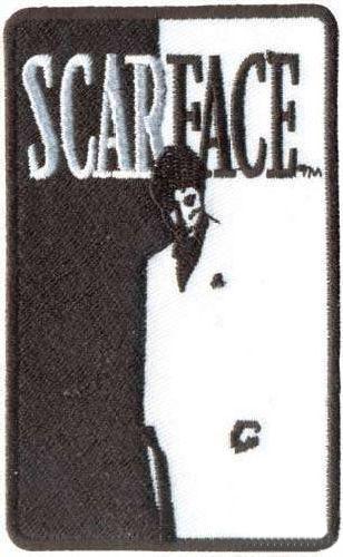 AD1015 Термоаппликация Scar Face (лицо со шрамом), 10*6 см, Hobby&Pro