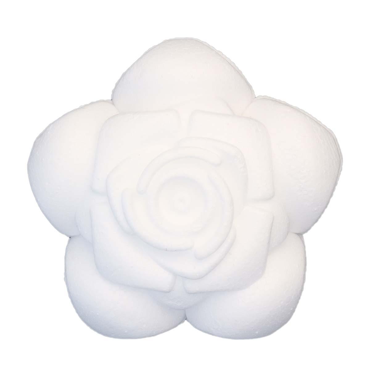 Заготовка для декорирования из пенопласта 'Роза', 1 шт/упак, Астра