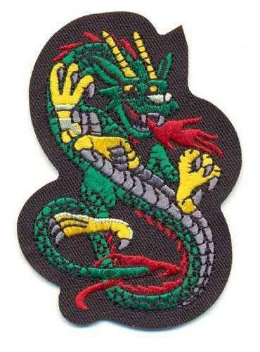 AD1022 Термоаппликация 'Дракон', 9*6 см, Hobby&Pro
