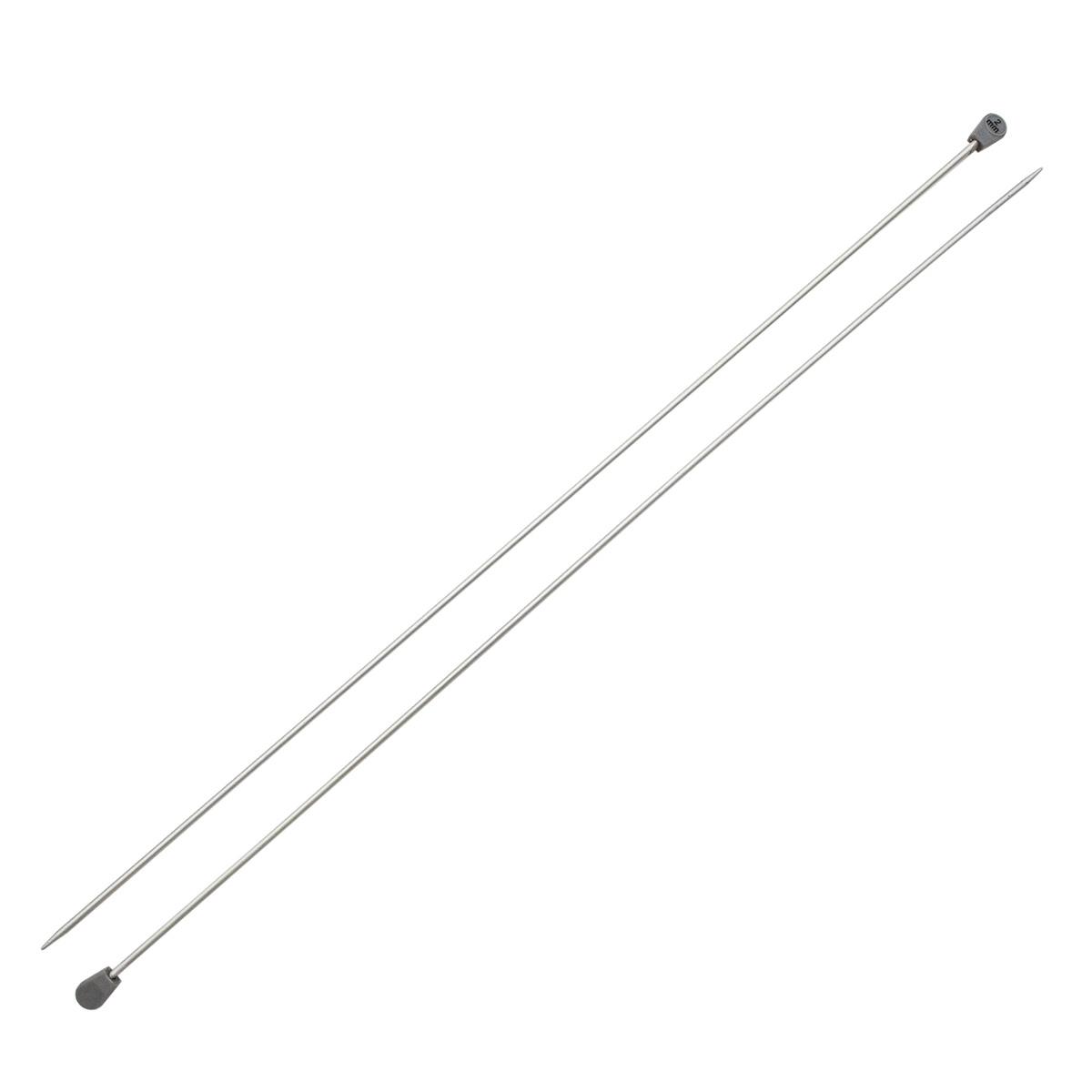 Набор прямых алюминиевых спиц для вязания 2,00мм-3,00мм, в футляре, Hobby&Pro
