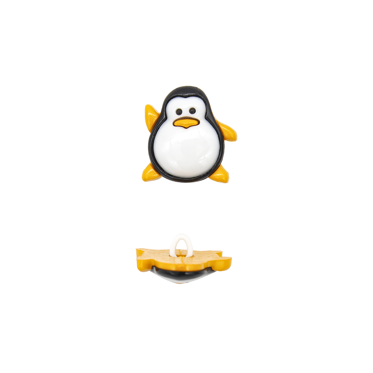Пуговица, Пингвин (48728) 25мм