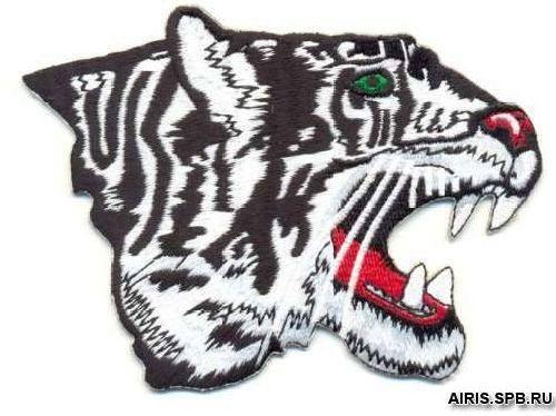 AD1047 Термоаппликация 'Тигр', 9*12 см, Hobby&Pro