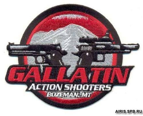 AD1050 Термоаппликация Gallatin (внимательные стрелки), d 9 см, Hobby&Pro