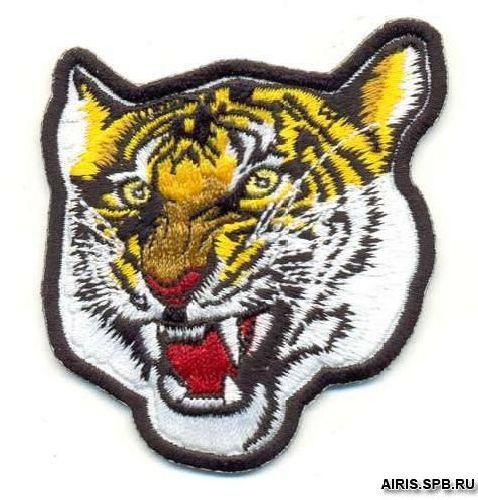 Термоаппликация AD1052 Голова тигра Hobby&Pro