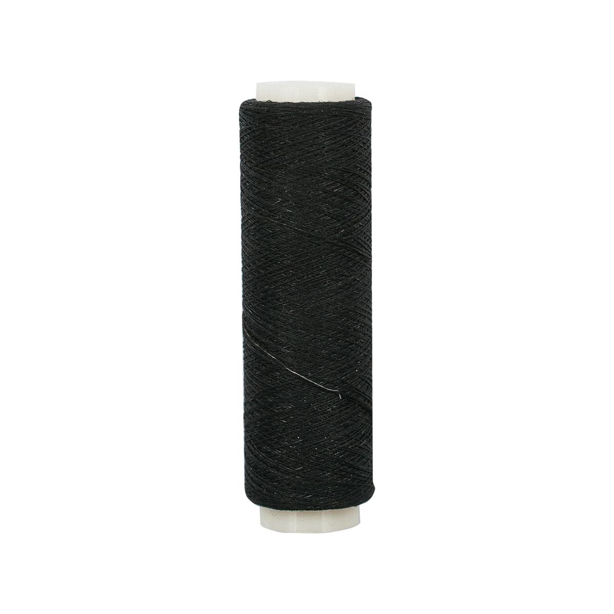 52402 Нить эластичная 200 м, черная PONY
