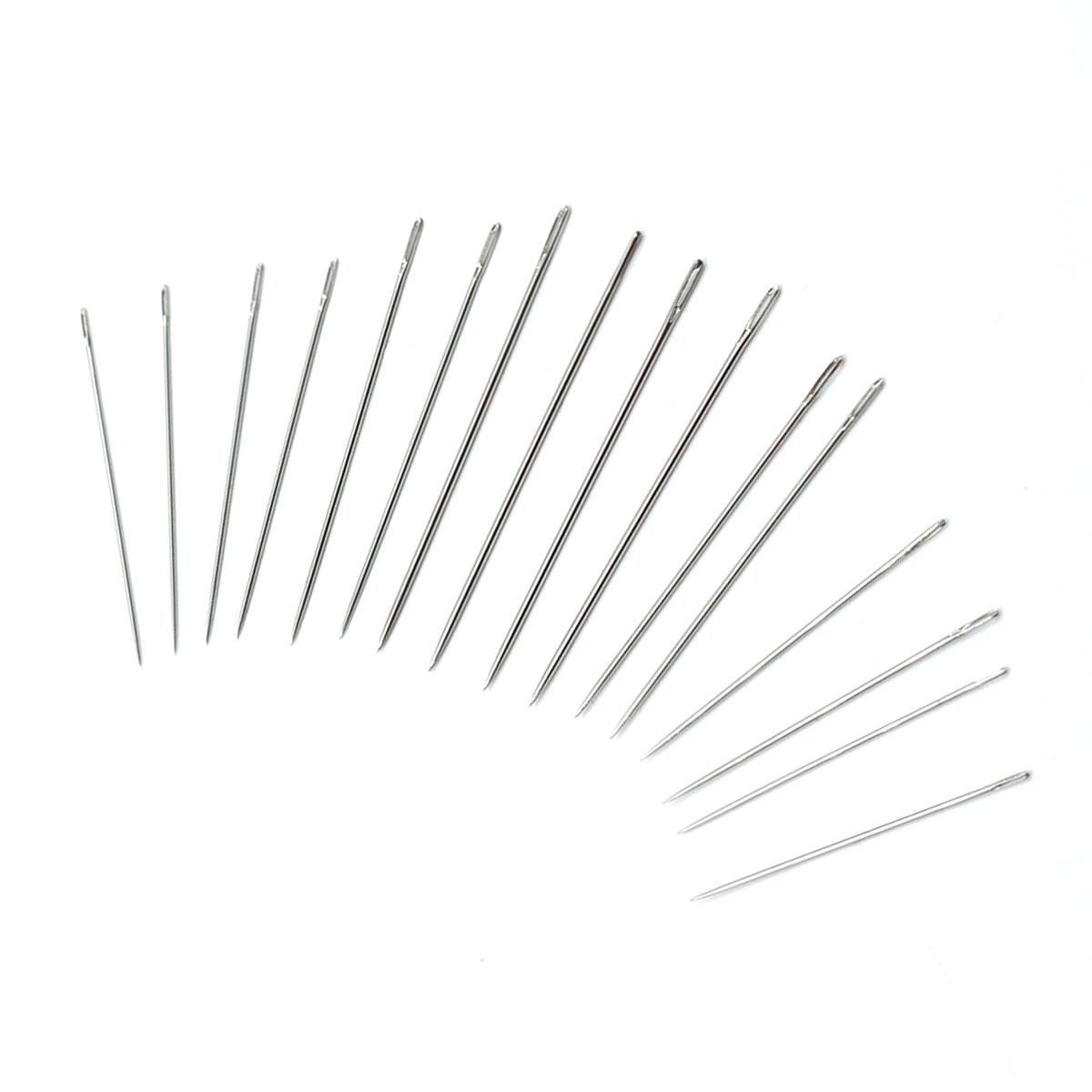 Иглы ручные для тонкой шерсти №5-10, 16шт. 110109, Hobby&Pro