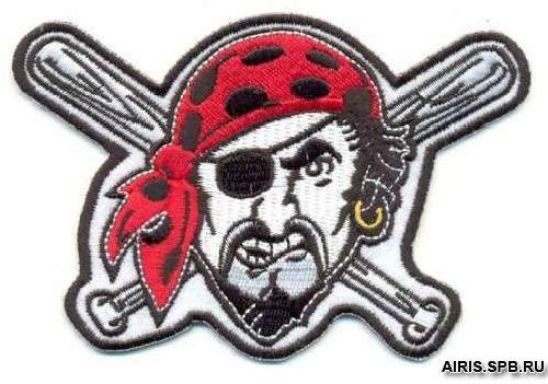 AD1054 Термоаппликация 'Пират', 8*11 см, Hobby&Pro