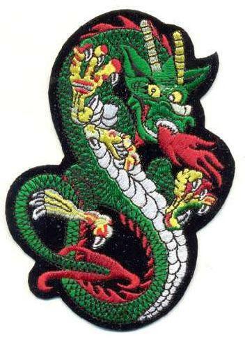 AD1056 Термоаппликация 'Дракон', 10*13 см, Hobby&Pro