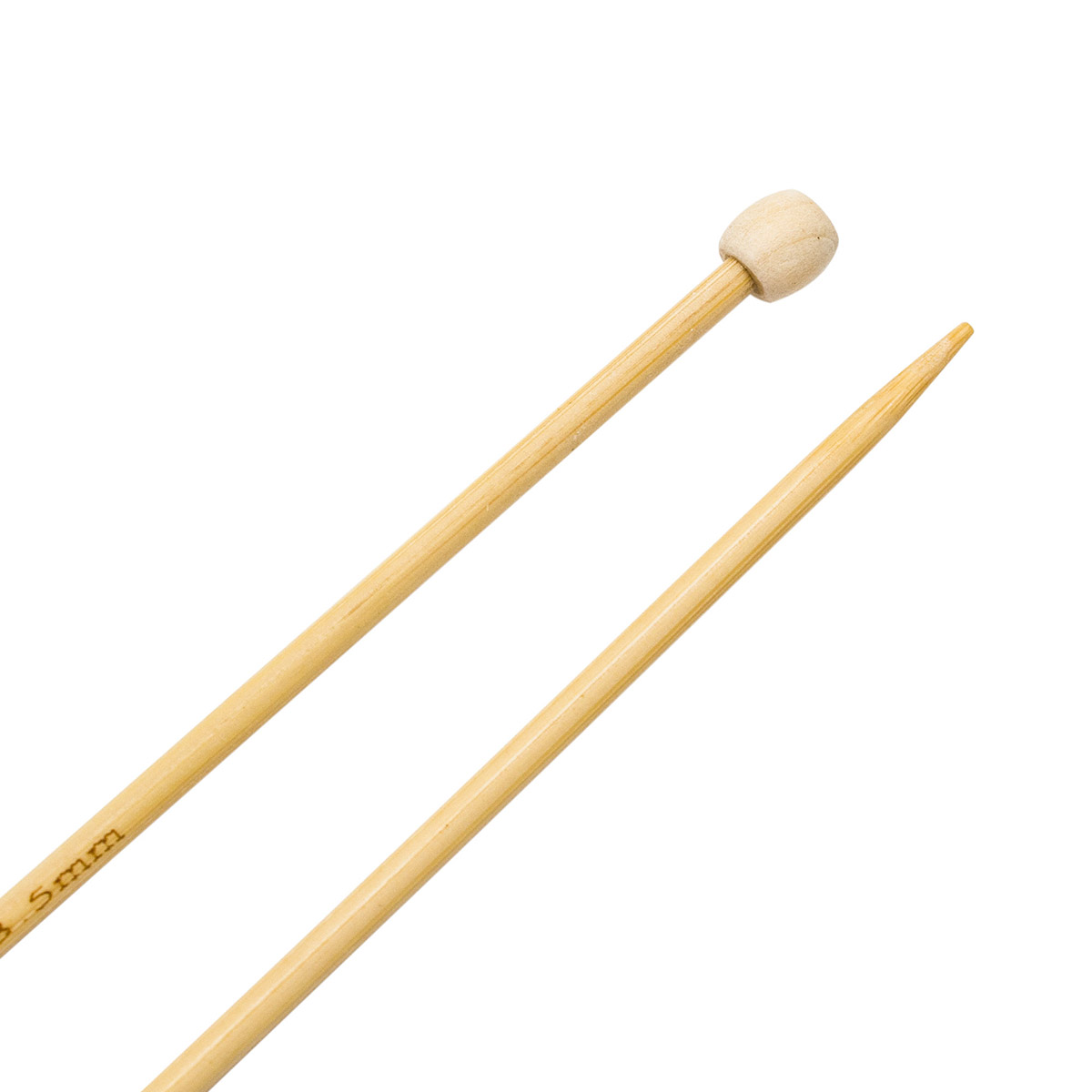 Спицы прямые бамбук 942235, 35 см, 3,5 мм, Hobby&Pro