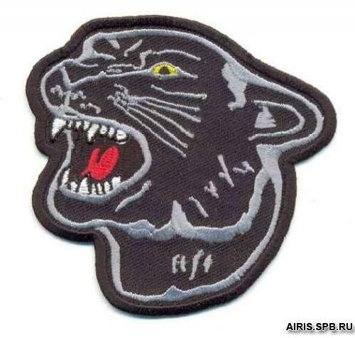 AD1059 Термоаппликация 'Пантера', 8*8 см, Hobby&Pro