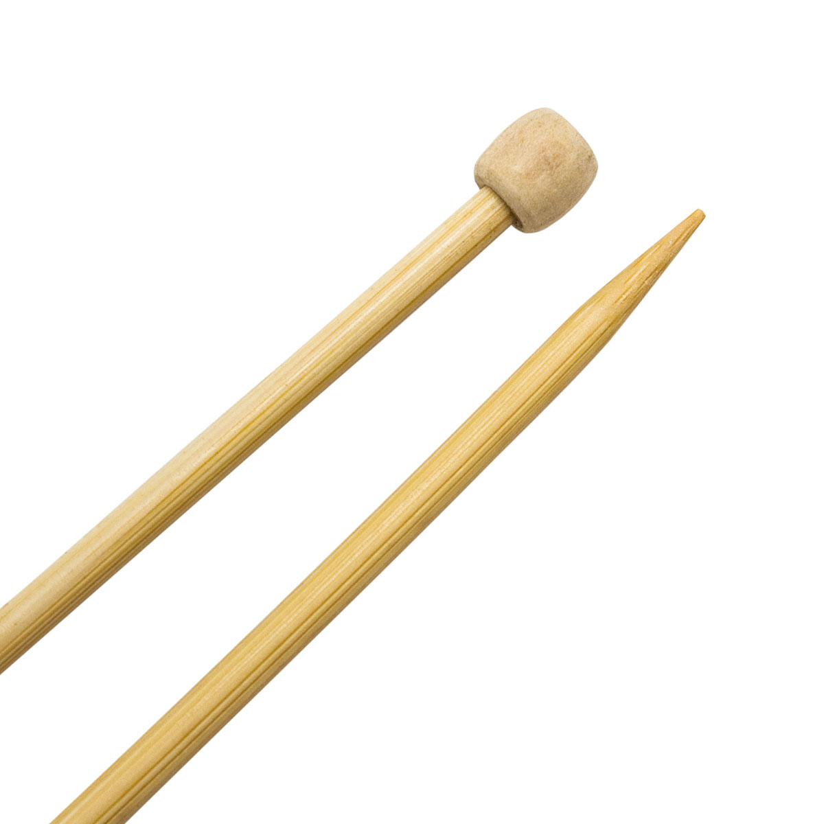 Спицы прямые бамбук 942250, 35 см, 5,0 мм, Hobby&Pro