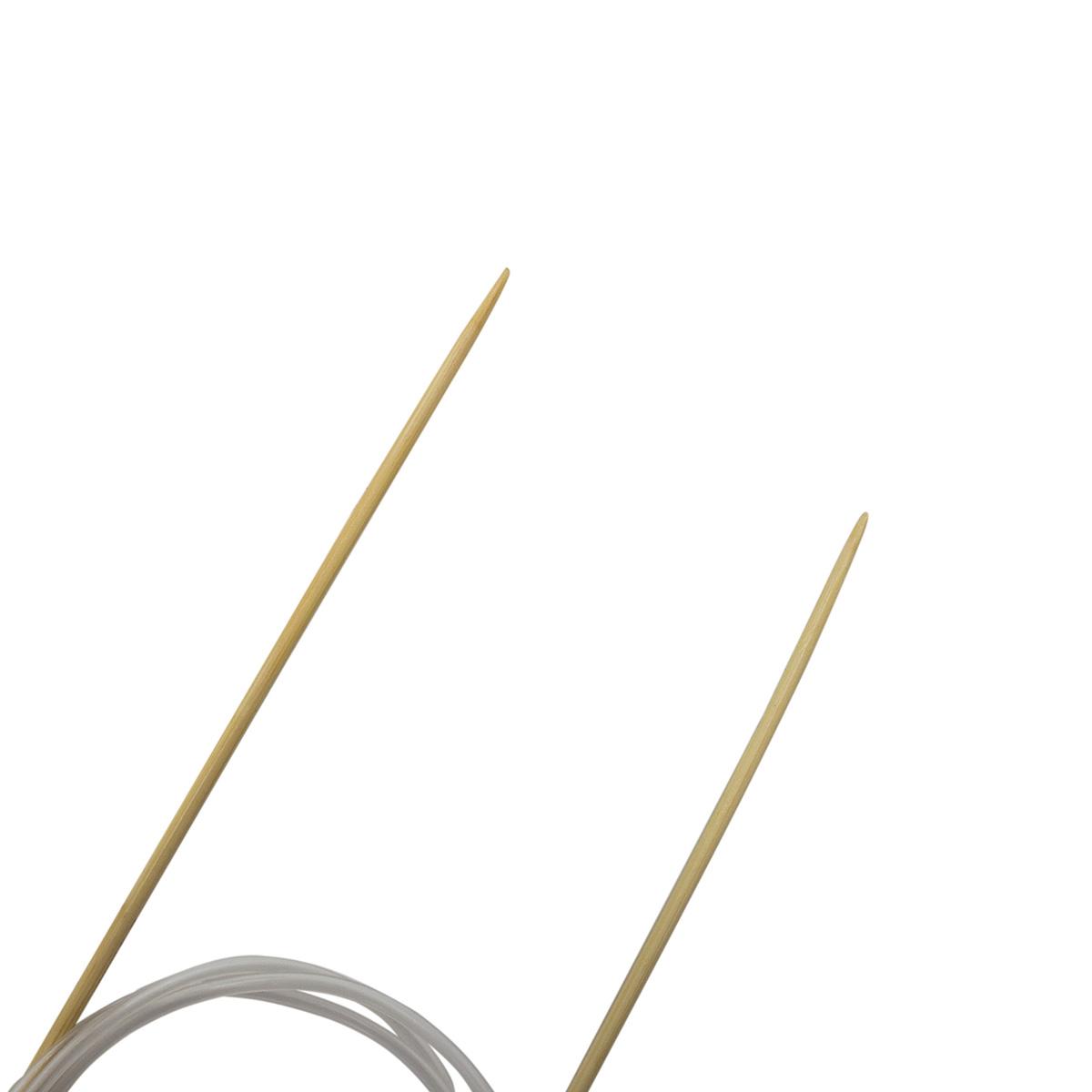 Спицы круговые бамбук 942125, 100 см, 2,5 мм, Hobby&Pro