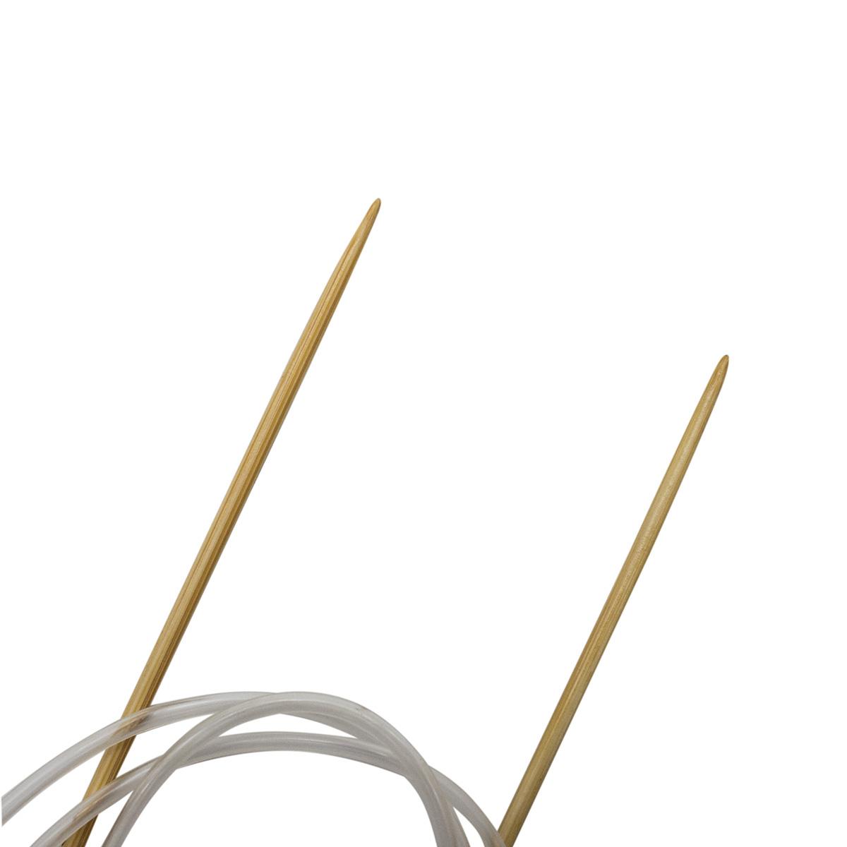 Спицы круговые бамбук 942130, 100 см, 3,0 мм, Hobby&Pro