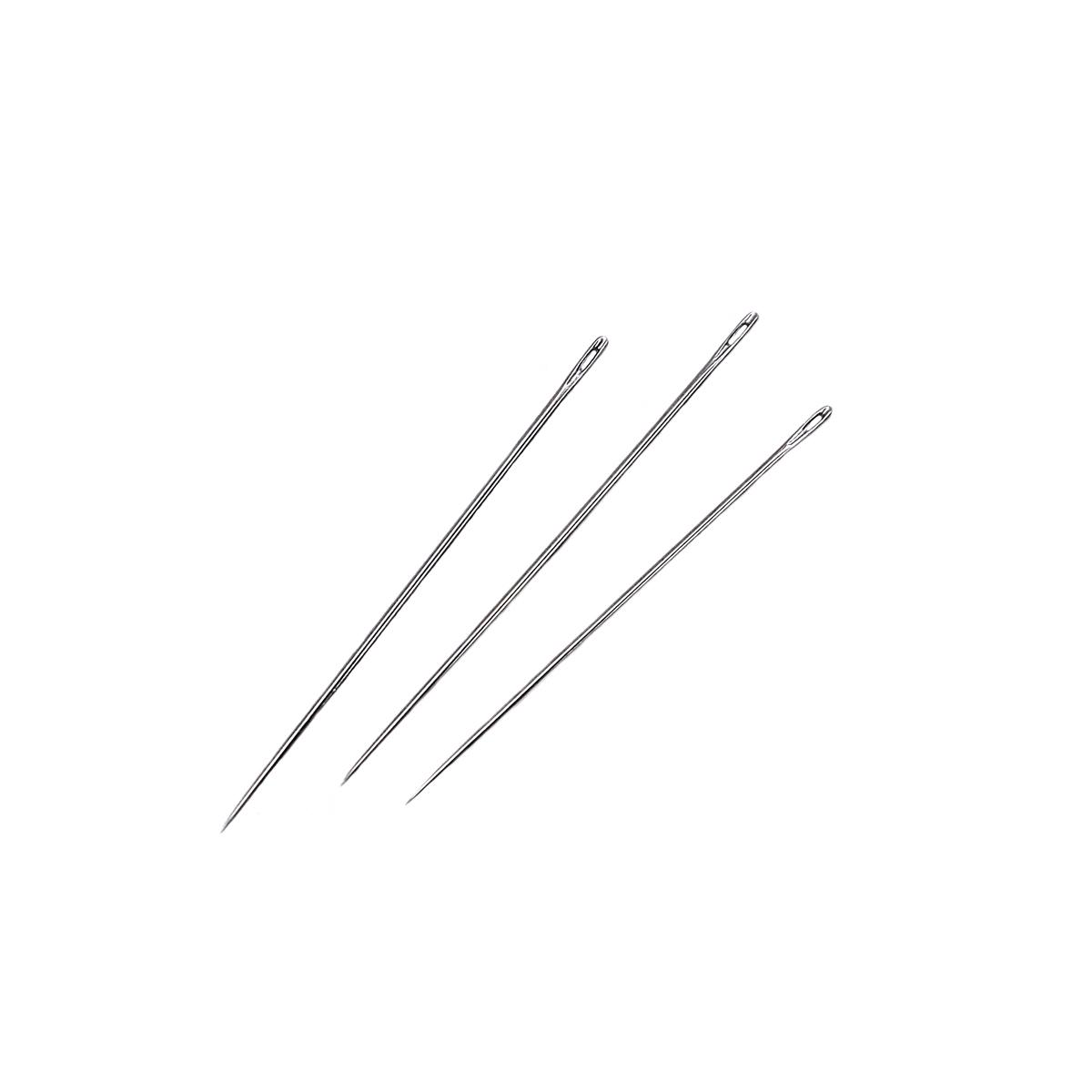 Иглы ручные универсальные, 120103, №5-10, 16 шт., Hobby&Pro