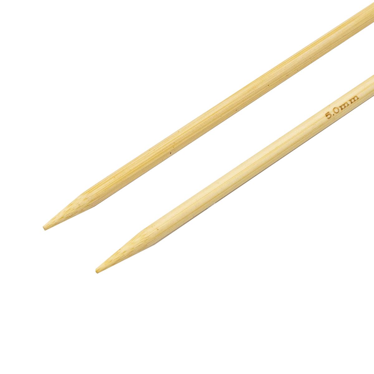 Спицы круговые бамбук 942150, 100 см, 5,0 мм, Hobby&Pro