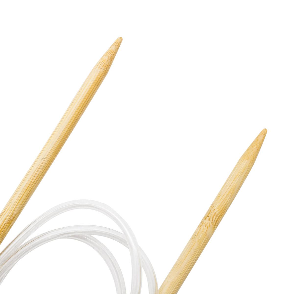942170 Спицы круговые бамбук 100см, 7,0мм Hobby&Pro
