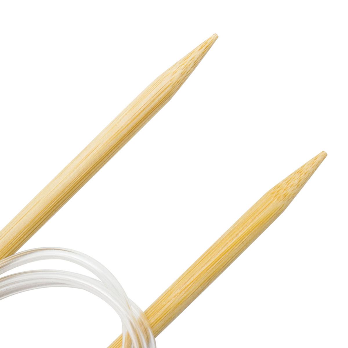 Спицы круговые бамбук 942180, 100 см, 8,0 мм, Hobby&Pro