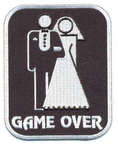 "Термоаппликация AD1073 ""GAME OVER"" (Конец игры), Hobby&Pro"
