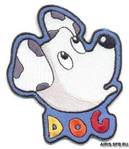 AD1074 Термоаппликация 'Собака', 9*7 см, Hobby&Pro
