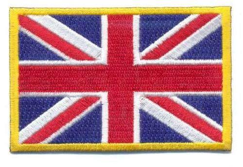 AD1082 Термоаппликация 'Английский флаг', 5*7,5 см, Hobby&Pro